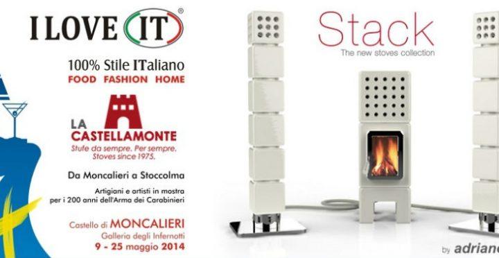 Stack a I LOVE IT, 100% Stile Italiano