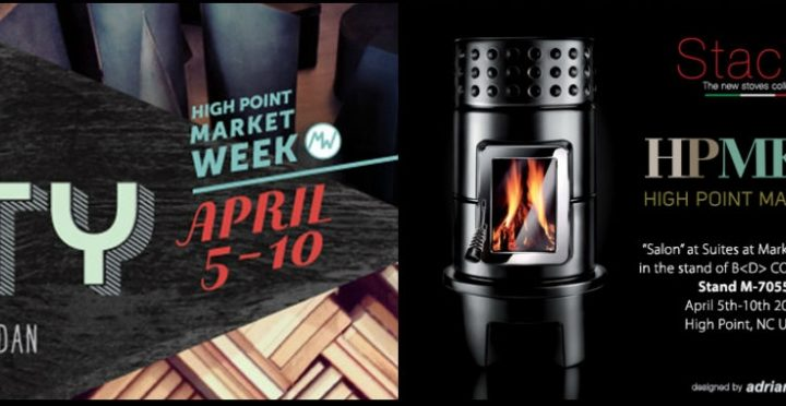 Stack Stoves in esposizione al 'High Point Market'
